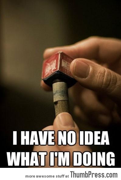 Every time I play pool…