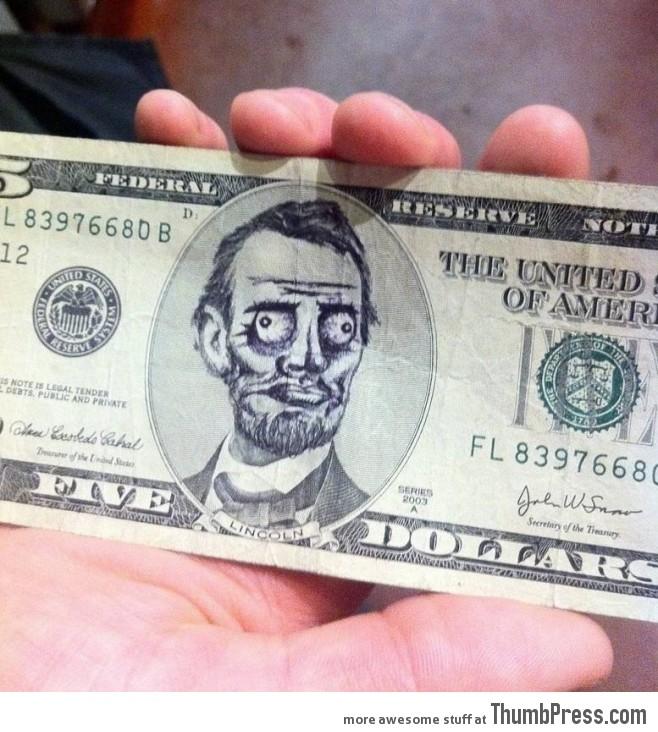 Five dollars - me gusta
