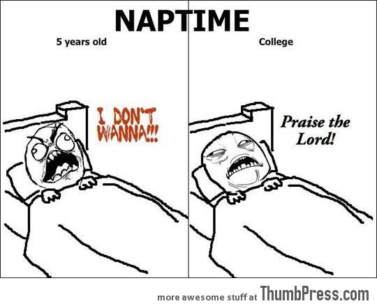 Napping…