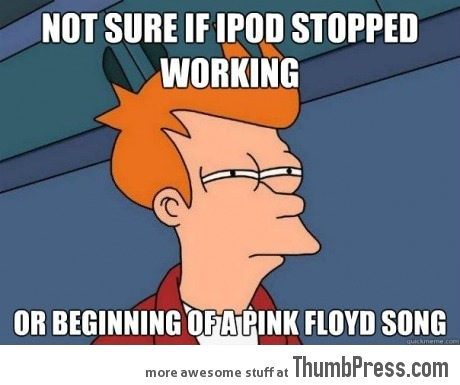 Not sure if ipod stop working...