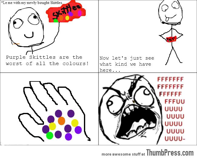 Skittles Rage