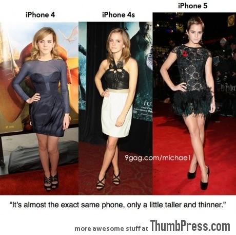 Apple 39 s iphone is like emma watson - Emma watson iphone ...