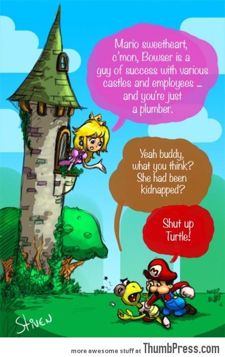 I'm sorry Mario