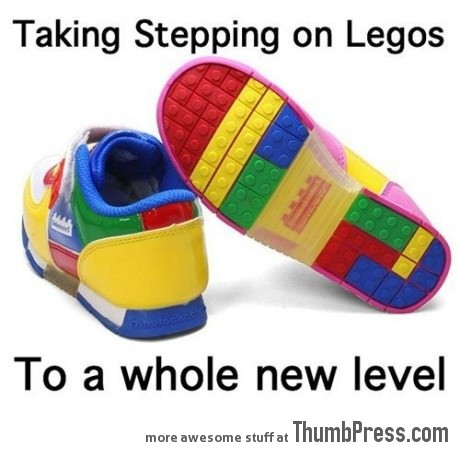 Stepping on Legos