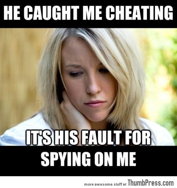Cheating girlfriend logic