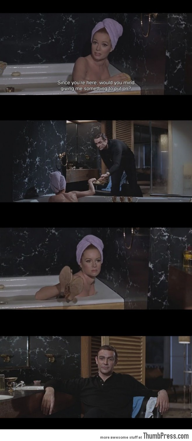 Oh Bond. The good old days.