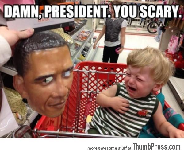 Scary Obama…