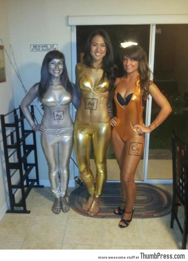 Silver, Gold, and Copper