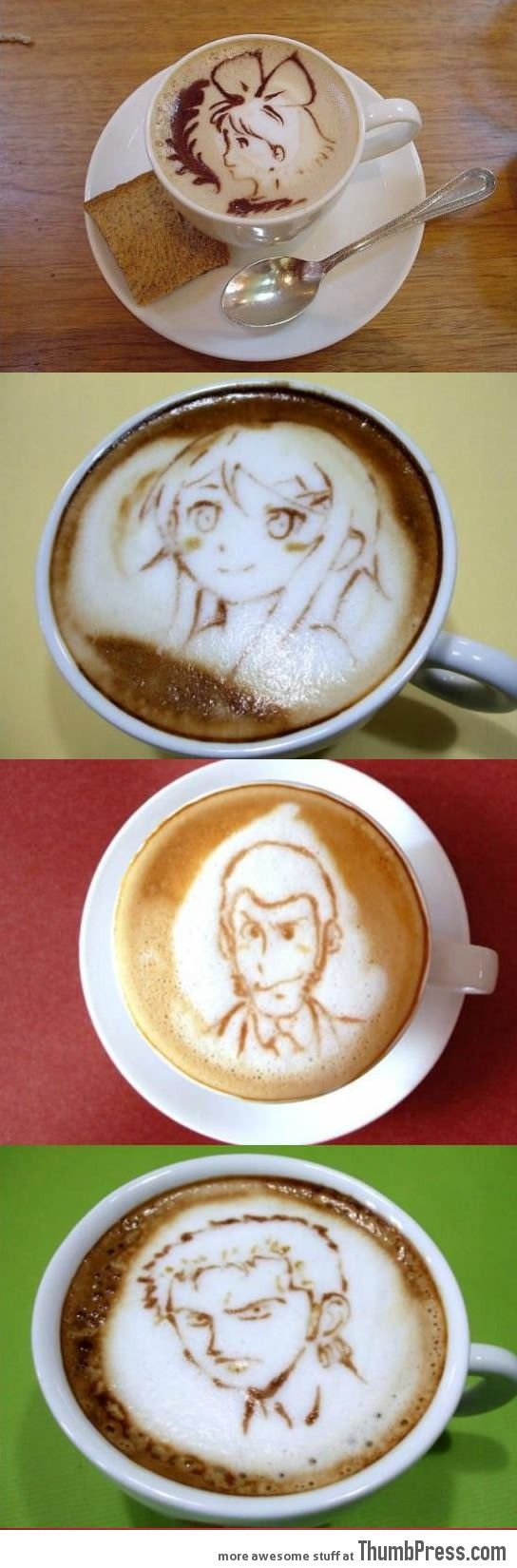 The perfect coffee styles