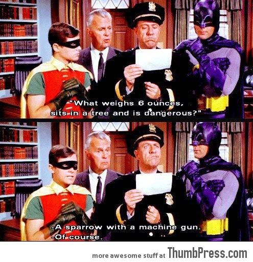 Batman you're a Genius