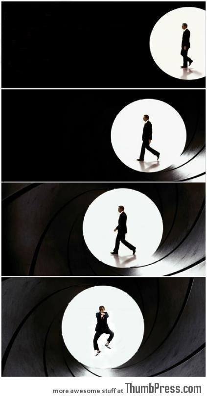 Bond, James... Wait... what