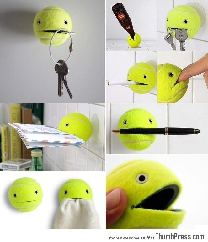 Recycling an old tennis ball - Can tennis balls be recycled ...