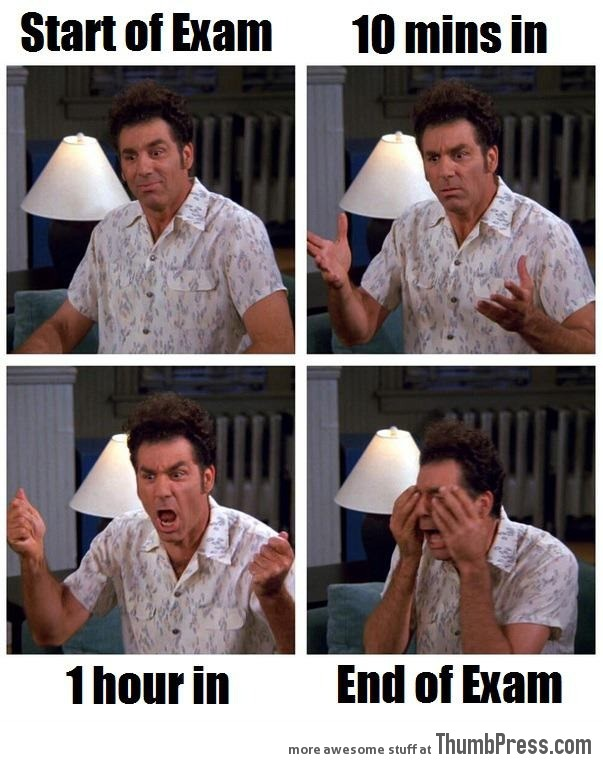 The vicious exam cycle