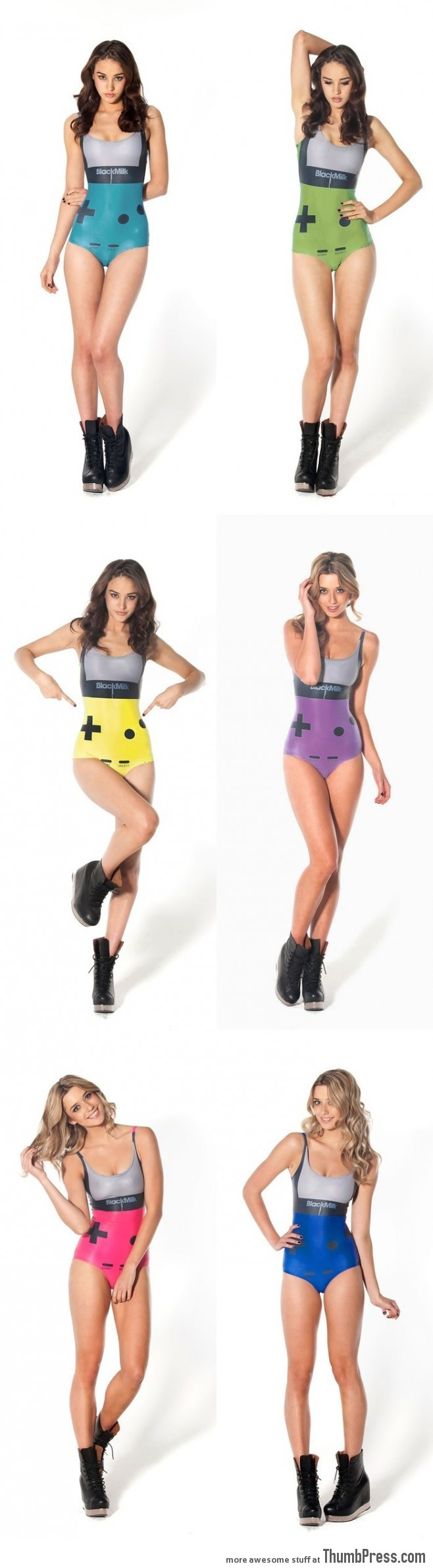 Game Boy Color Swimsuits!