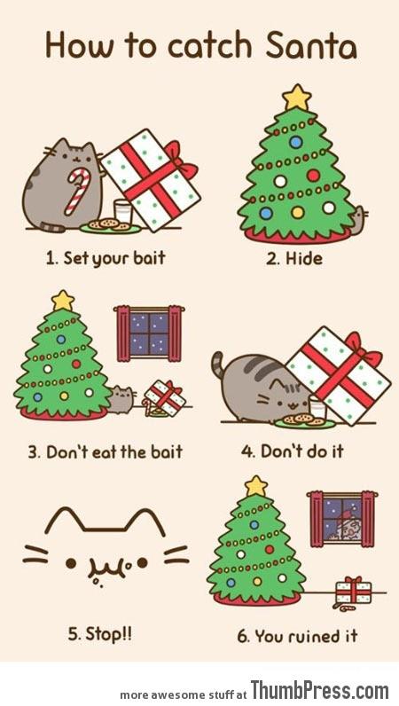 How to catch Santa…