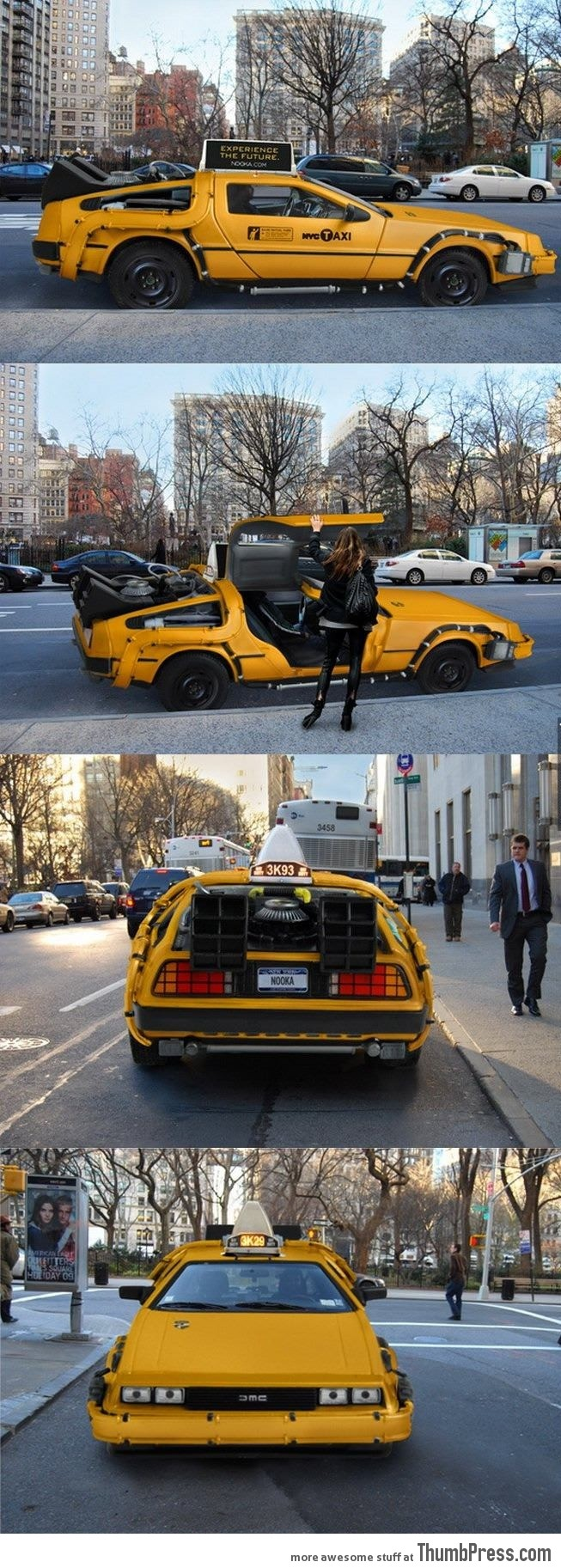 I want to get a ride on this taxi