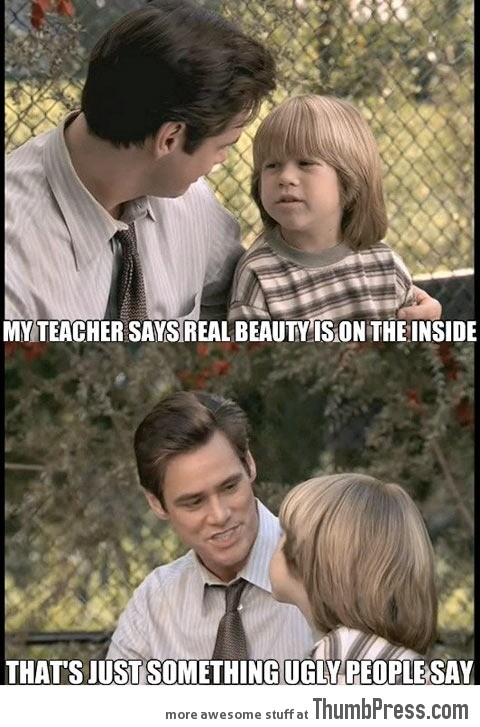Jim Carrey speaks the truth.