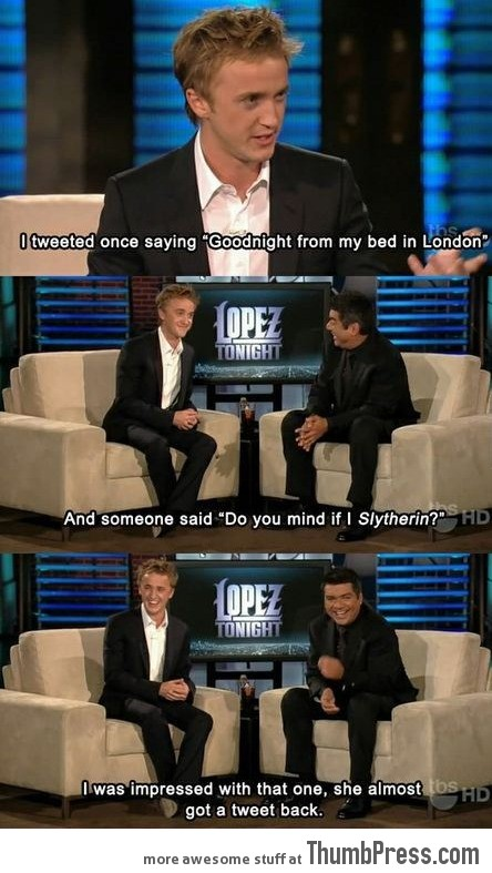 Oh, Tom..