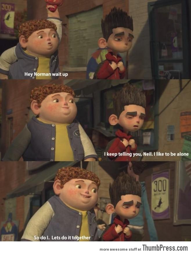 The beginning of a friendship