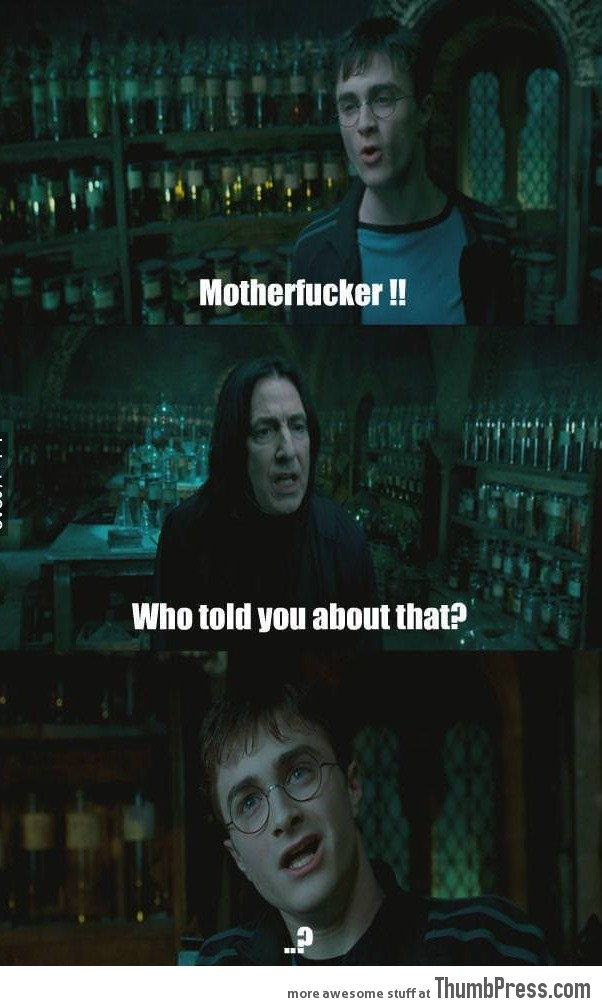 Confused Harry is confused.