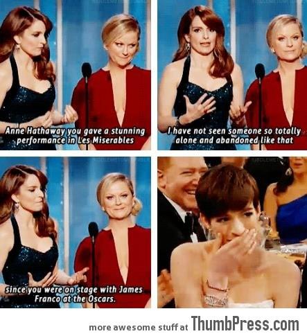 Never since the Oscars