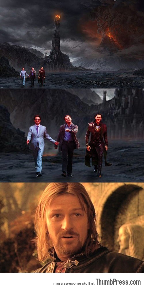 One does not simply walk…wait a minute…