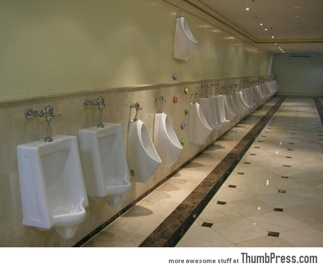 Extreme urination.