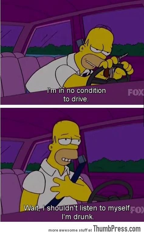 Homers Logic.