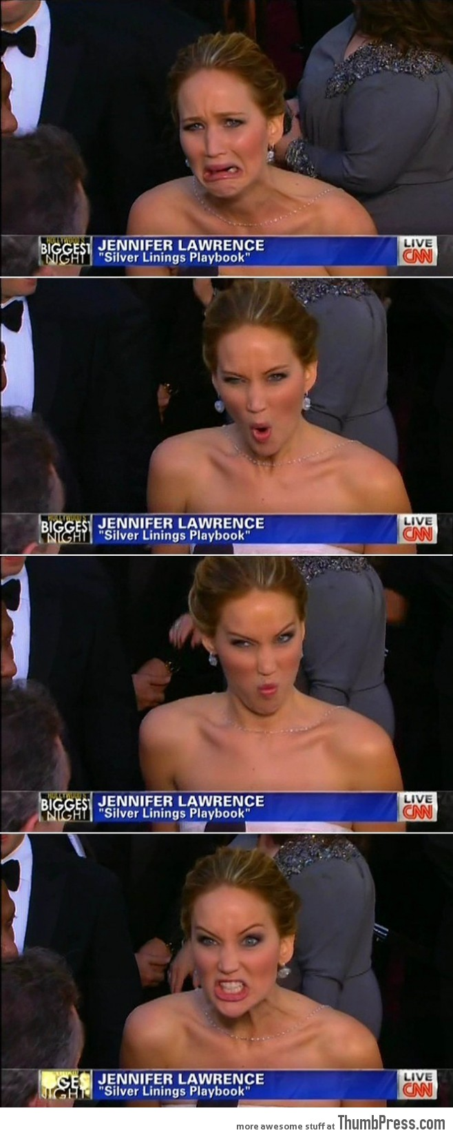Jennifer Lawrence, the Best Actress Oscar!