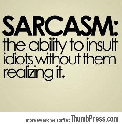 Definition of Sarcasm