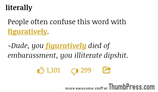 Loving the Urban Dictionary Word of the Day