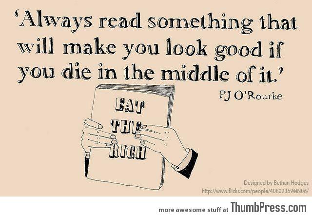 Read something good