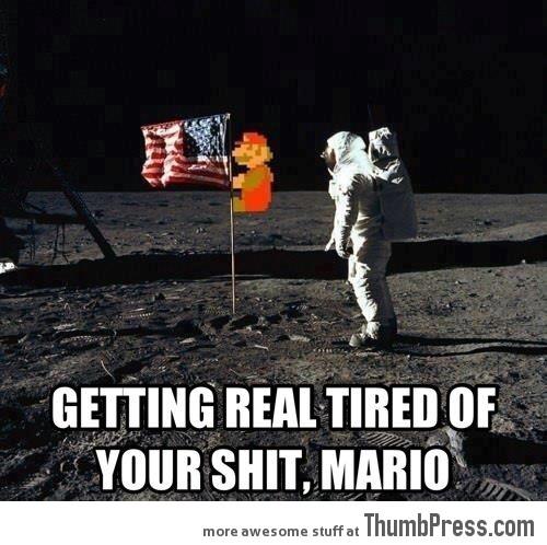 Really Mario? Again?