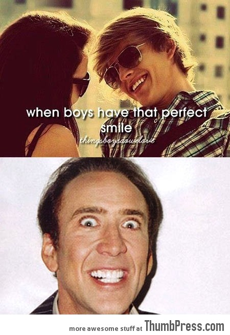 THAT PERFECT SMILE...