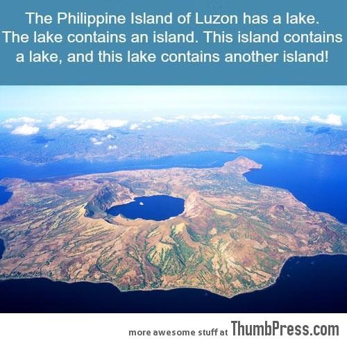 THE PHILLIPPINE ISLAND OF LUZON.