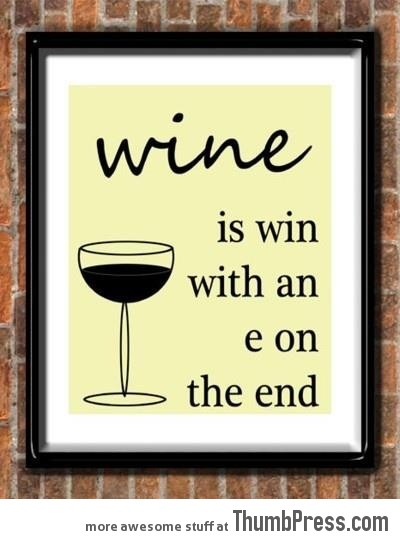 Thing about Wine