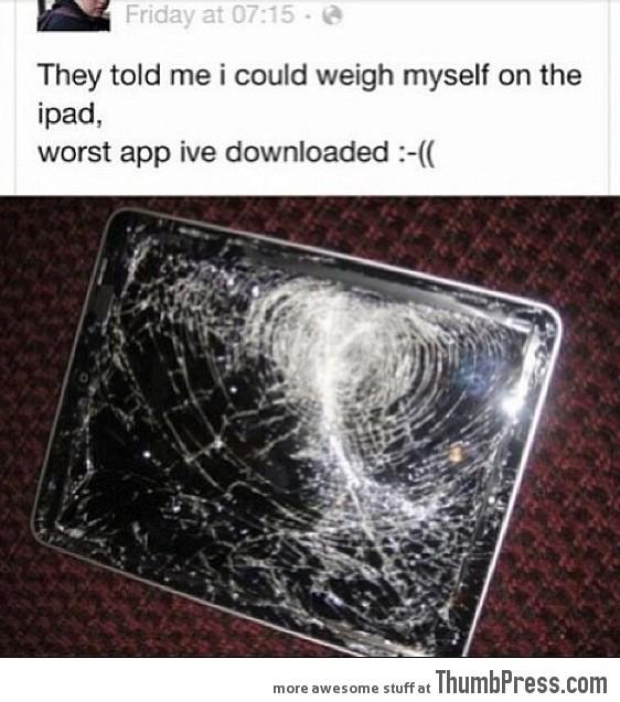 Worst app I've downloaded