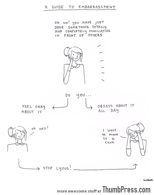 A GUIDE TO EMBARRASSMENT.