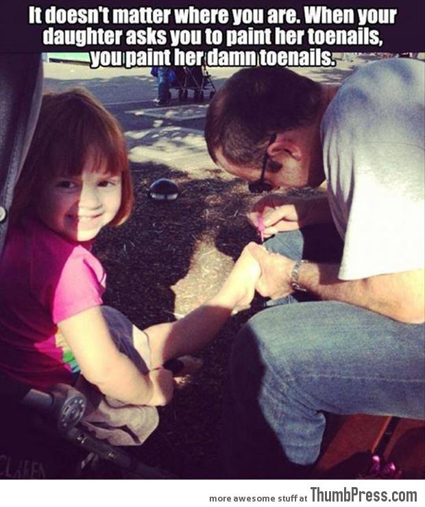 A good dad..