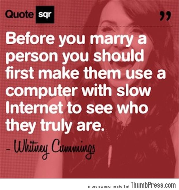 Before you marry someone...