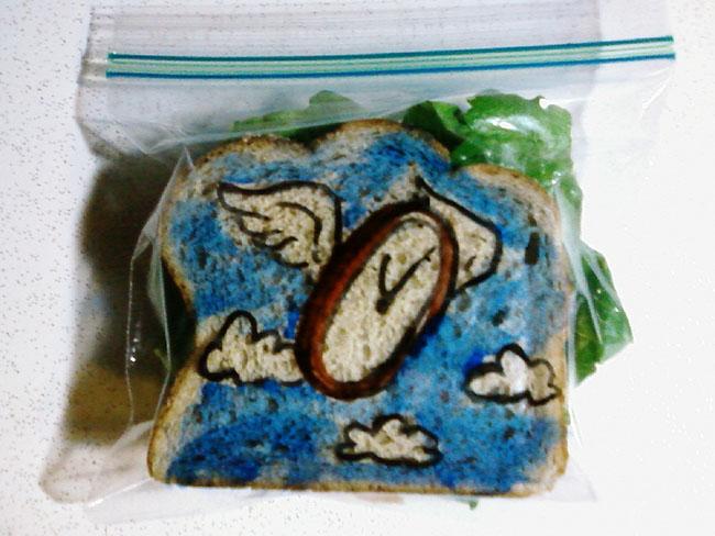 Cool sandwich bag drawings 3