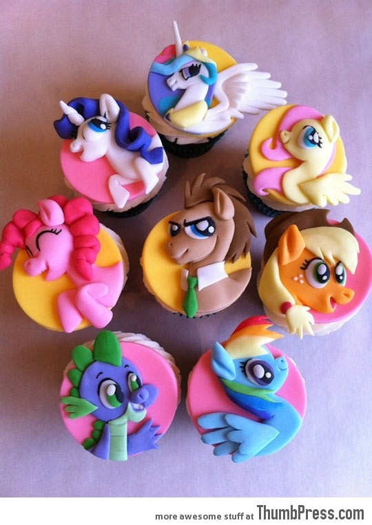 Cutest cup cakes