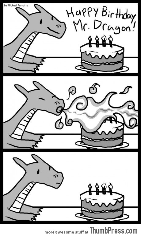 First world dragon problems