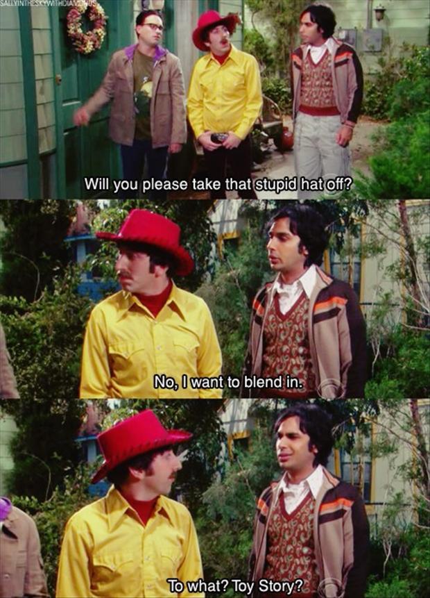 Funny Big Bang Theory Pictures - Howard Raj and Leonard