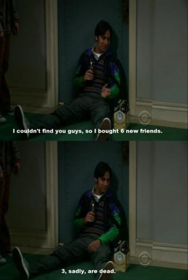 Funny Big Bang Theory Pictures - Raj Quotes