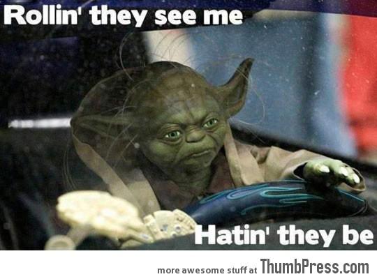 Gangster Yoda...
