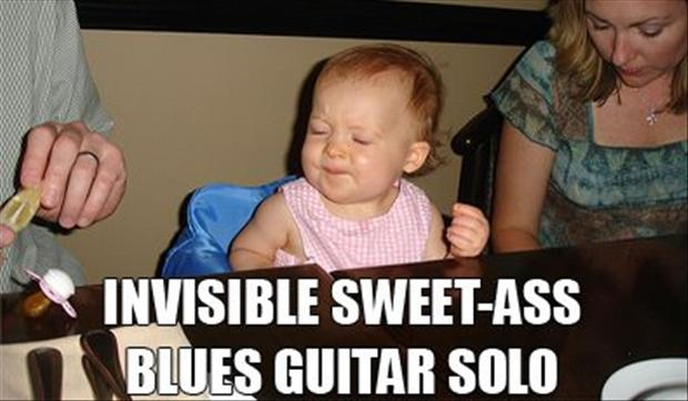 Invisible guitar solo