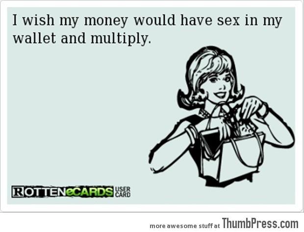 My wish for money