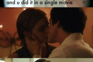 Rupert Grint's reaction on Emma Watson's kiss...