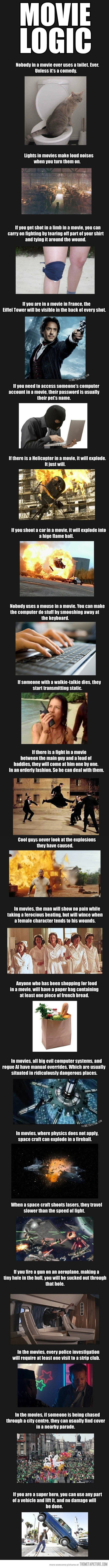 Several Movie Logics That Make You Think Again..
